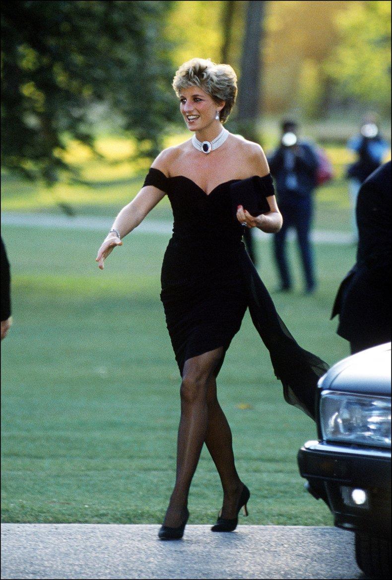 Princess Diana Wears Revenge Dress