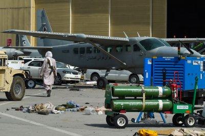 Aircrafts at Kabul Airport