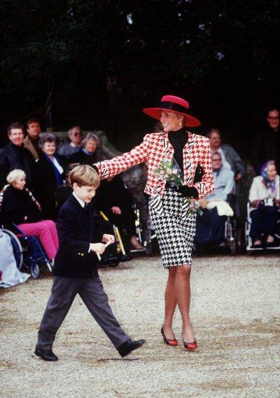 Princess Dianas Hounds Tooth Outfit