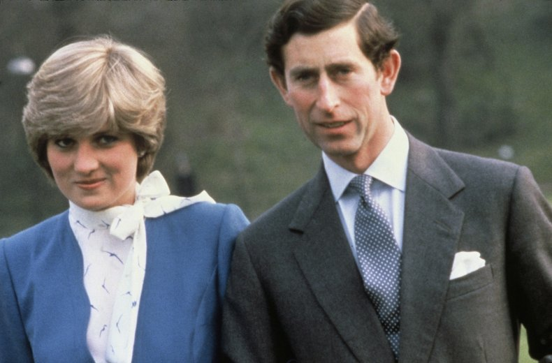 Princess Diana and Princes Charles' Engagement Announcement