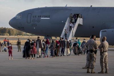 Afghan Refugees Arrive in Spain