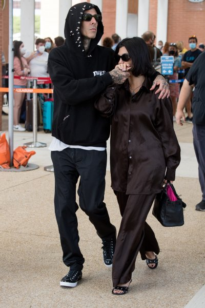 Travis Barker y Kourtney Kardashian en Venecia