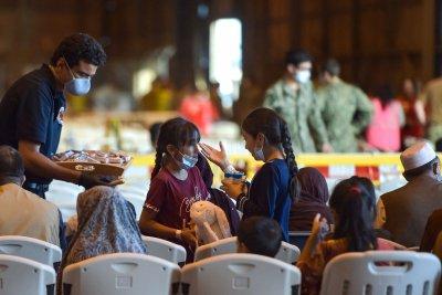 Afghan Refugees Waiting in Spain