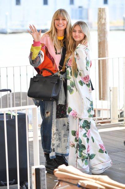 Heid Klum y su hija Leni en Venecia