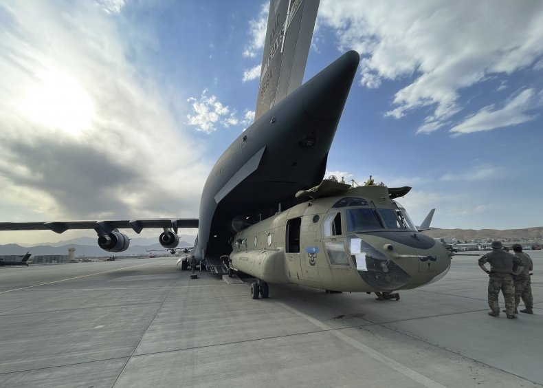 U.S. Aircraft Evacuation