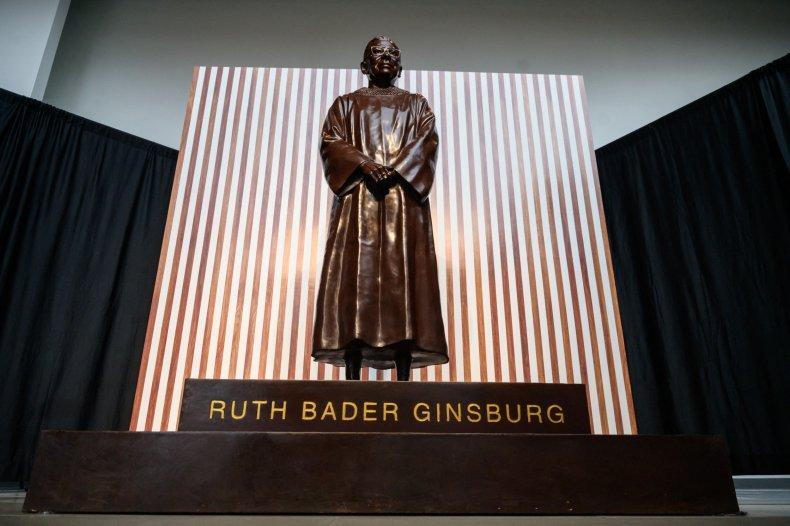 Ruth Bader Ginsburg statue