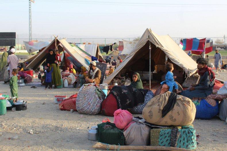 Pakistan Afghan Refugee Camp