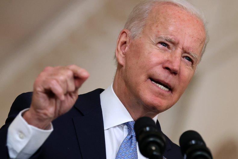 Biden Speaks After Afghanistan Airlift Completion