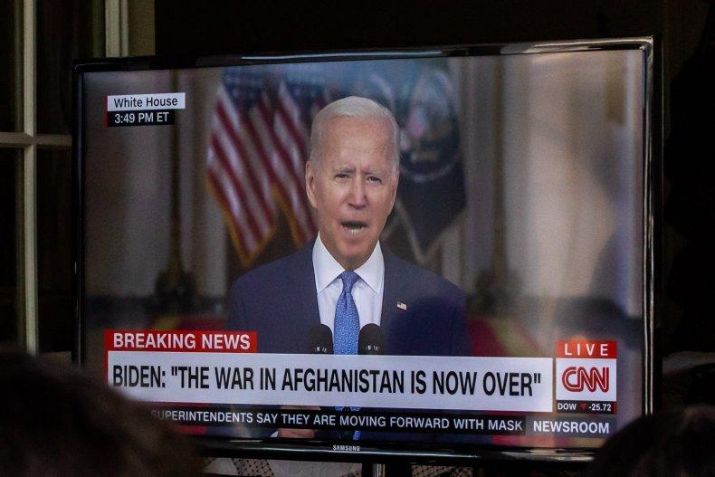 Joe Biden Afghanistan Speech