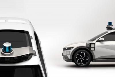 Hyundai Ioniq 5 Motional Robotaxi