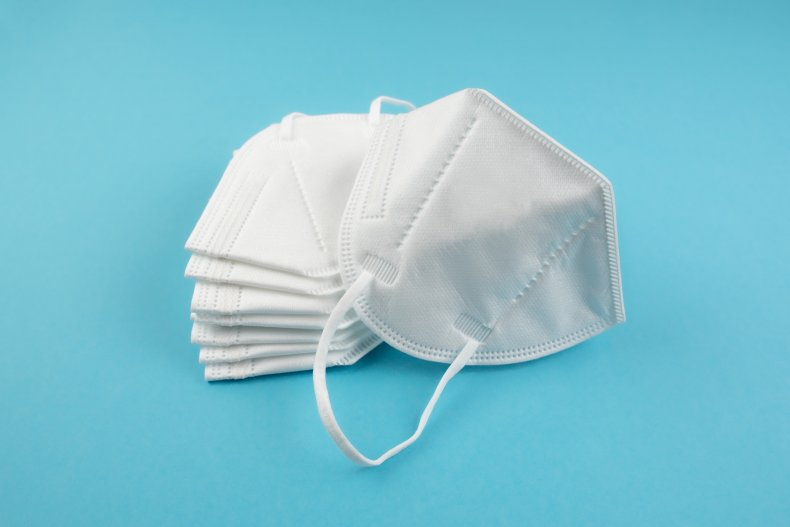Stock photo of N95 masks