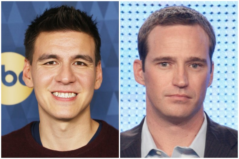 'Jeopardy!' star James Holzhauer and Mike Richards