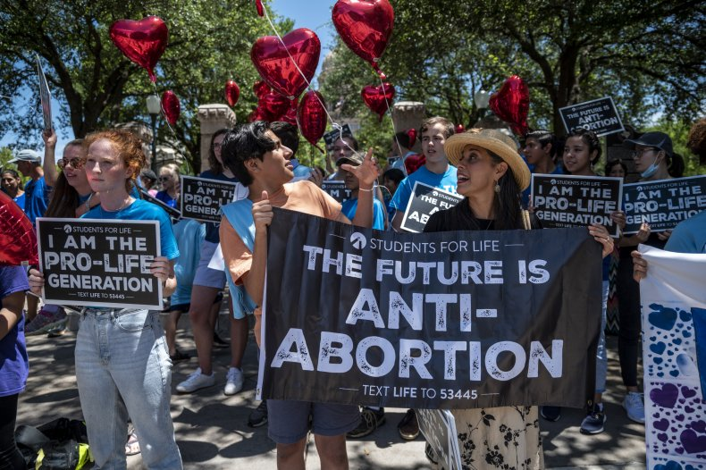 Pro-Life Protesters at the Texas State Capitol