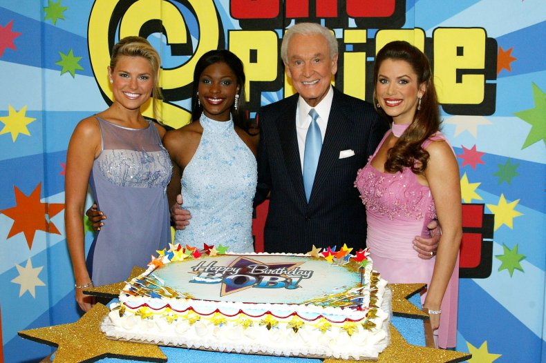 """Bob Barker, """"The Price Is Right"""" models"""