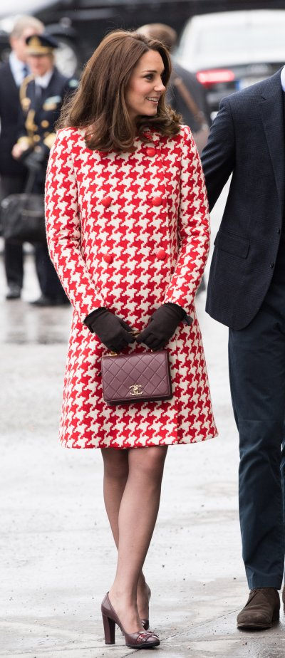 Kate Middletons Houndstooth Tribute to Diana
