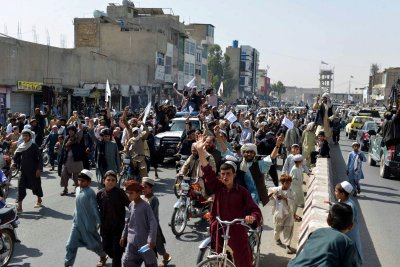 Taliban Parade