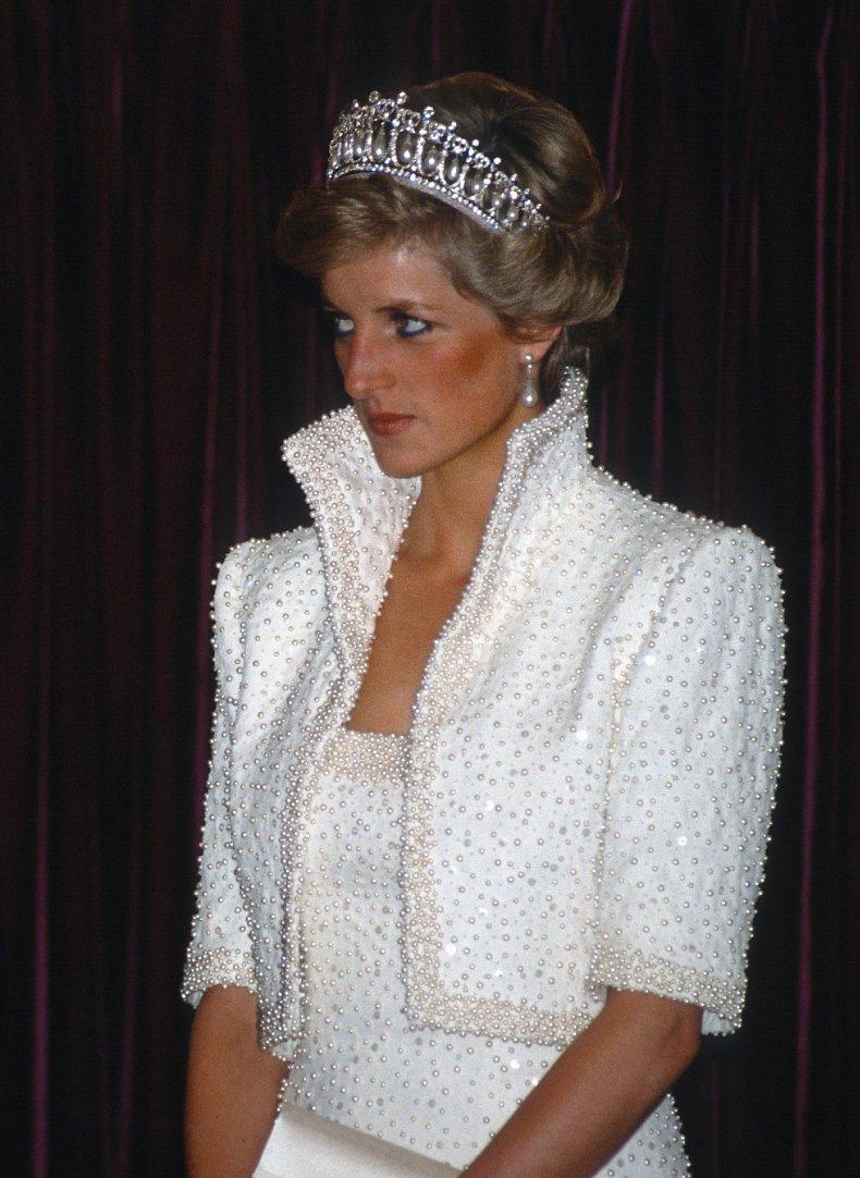 Princess Diana Wears Elvis Dress
