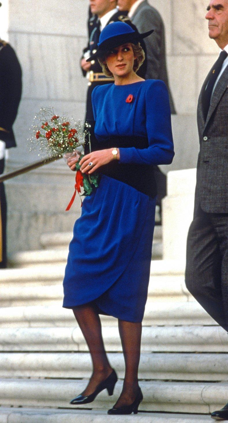Princess Diana at Arlington Cemetery