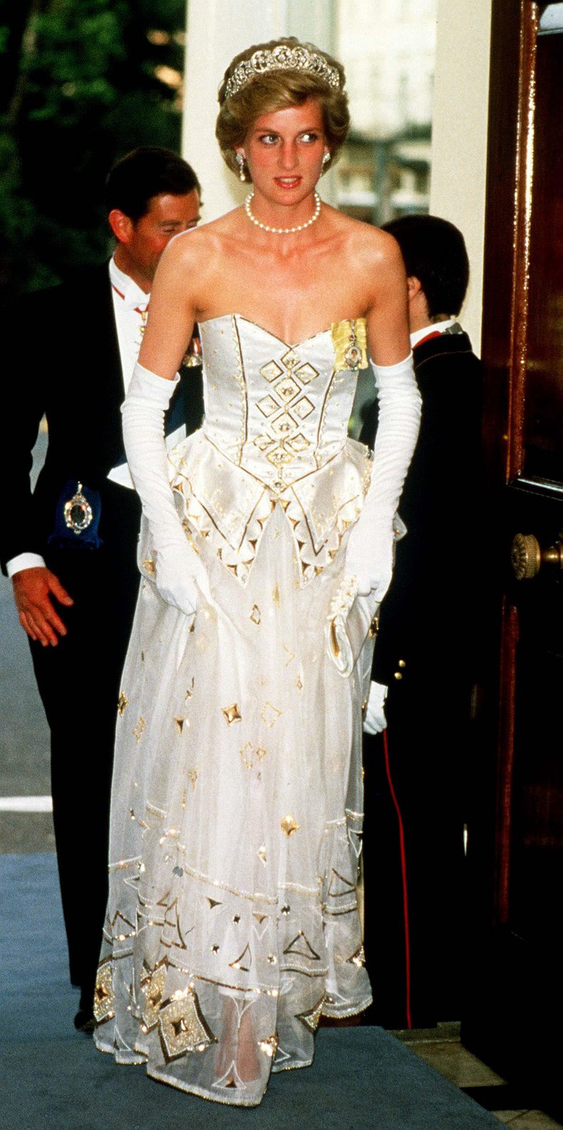 Princess Diana at German Embassy