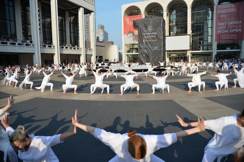 A 9/11 tribute performance at Lincoln Center.