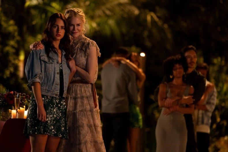 Grace Van Patten and Nicole Kidman