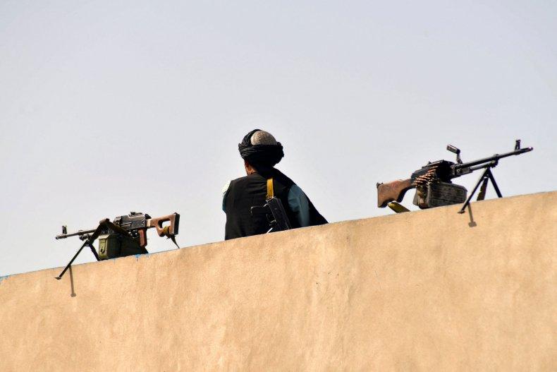 Taliban fighter in Kandahar