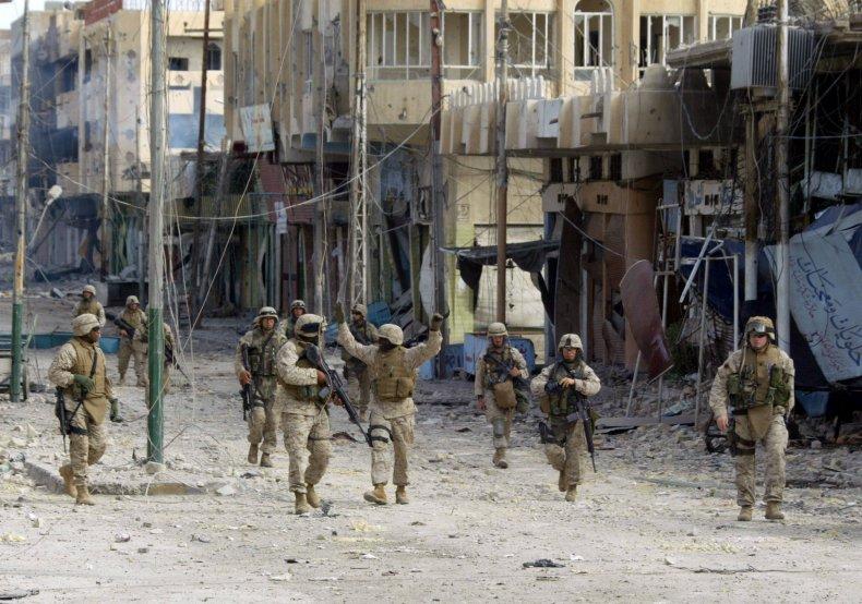 US, military, battle, Fallujah, Iraq
