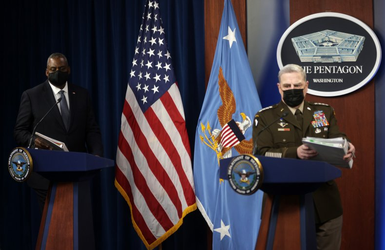 Milley, Austin reflect on Afghanistan withdrawal