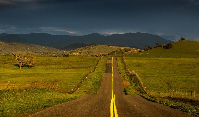 hillsides and pastures near Santa Ynez