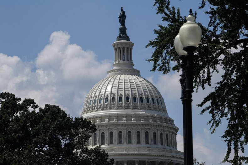 The dome of the US Capitol is