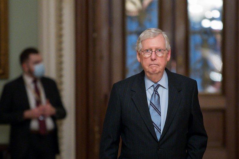 Mitch McConnell Joe Biden Impeachment Republicans Afghanistan