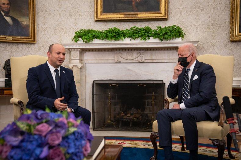 Naftali Bennett and Joe Biden