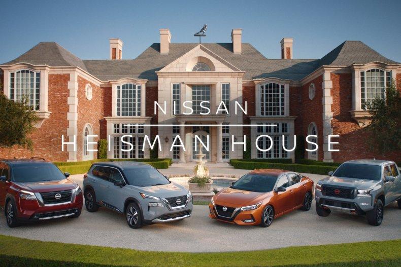2021 Nissan Heisman House campaign
