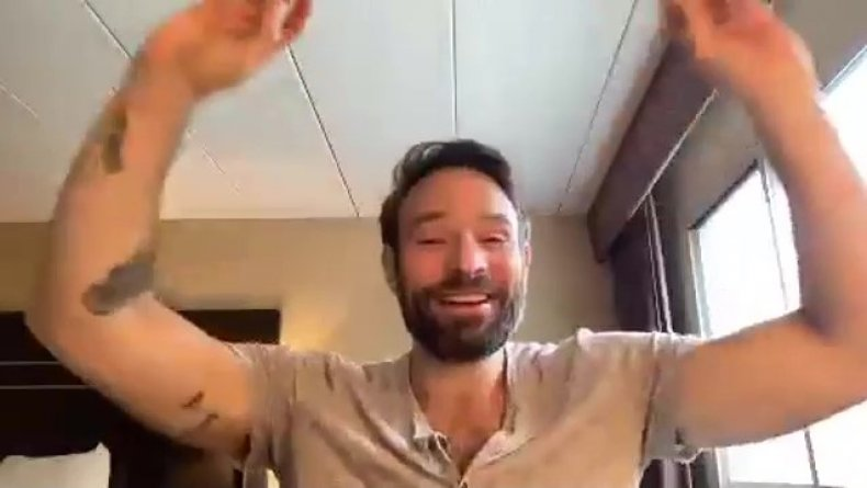 Charlie Cox forearms