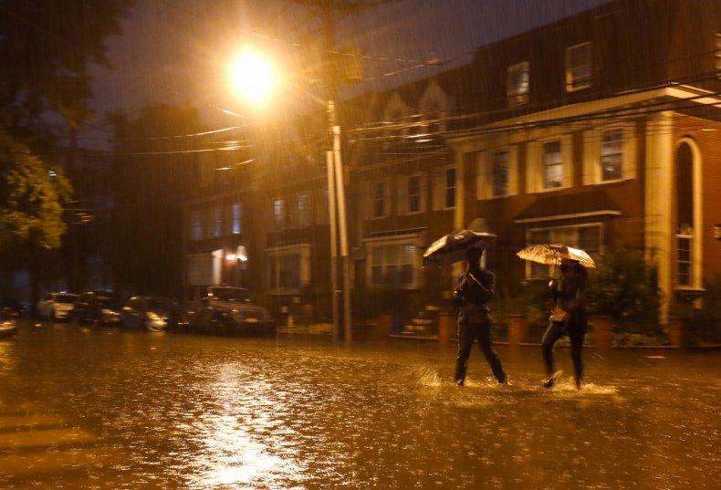 Flooding in U.S. northeast