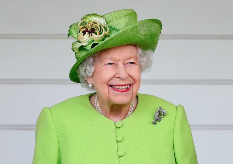 Queen Elizabeth II at Polo Cup