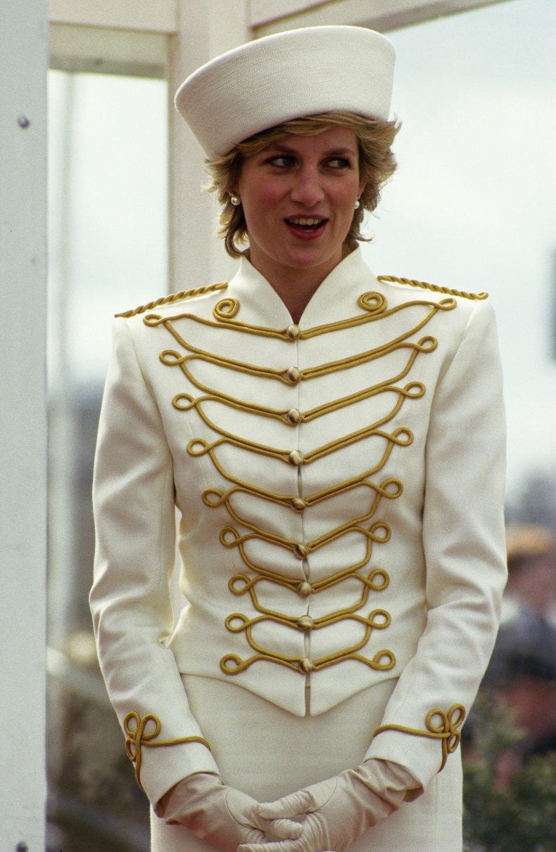 Princess Diana's Military Style