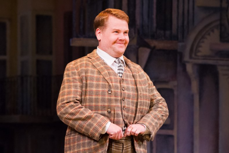 James Corden in One Man, Two Guvnors