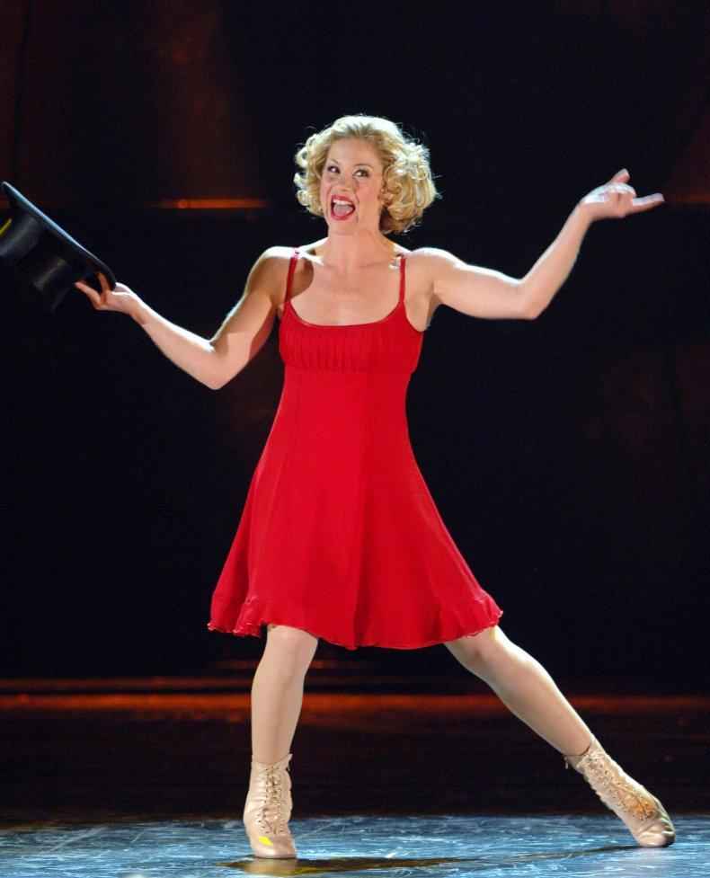 Christina Applegate in Sweet Charity