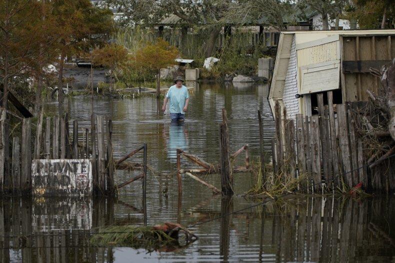 Flooding by Hurricane Ida