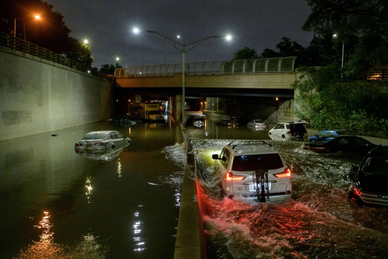 Heavy Flooding in Brooklyn