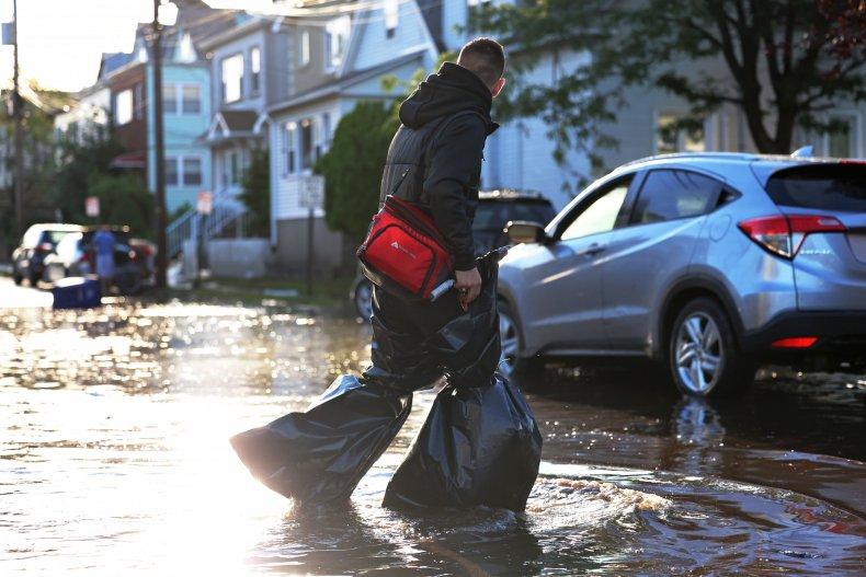 Remnants Of Hurricane Ida Move Through Northeast