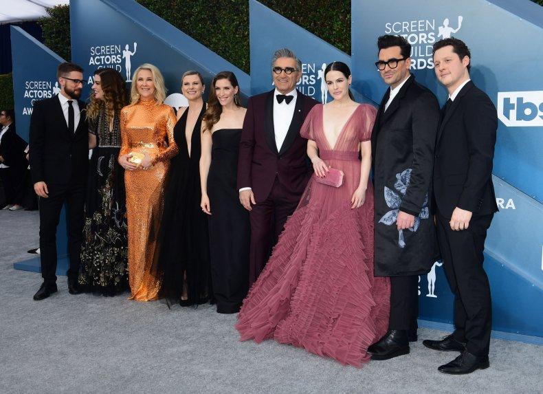 The cast of 'Schitt's Creek'