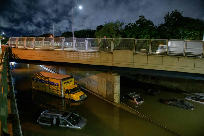 Flooding NYC