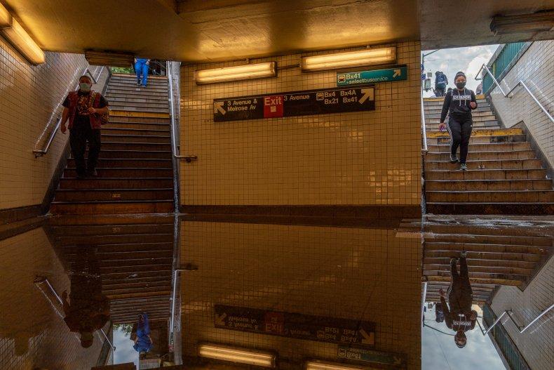 subway flood