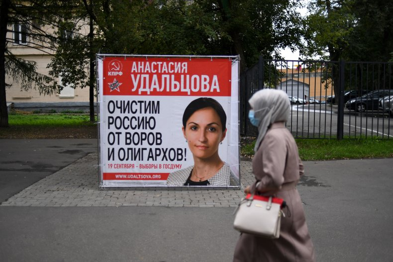 Russian Parliamentary Election