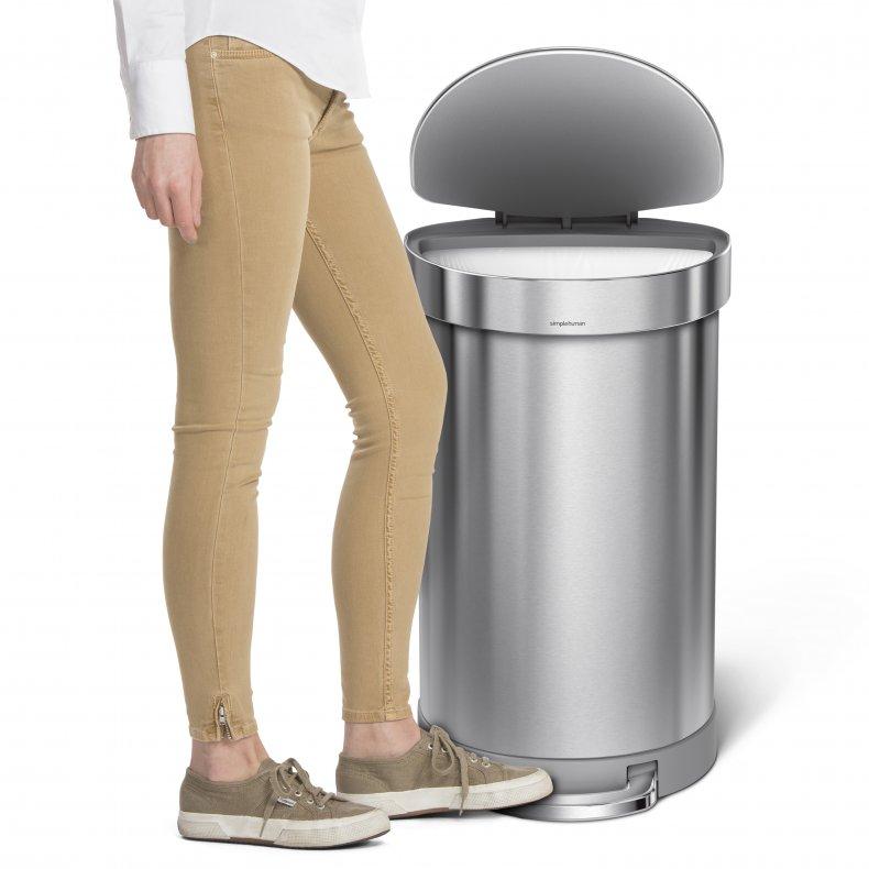 Simple Human Deodorizer Trash Can