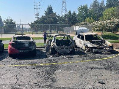 2017 Chevy Bolt Fire