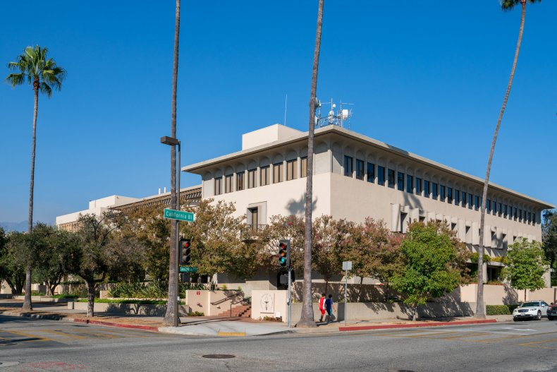California Institute of Technology building