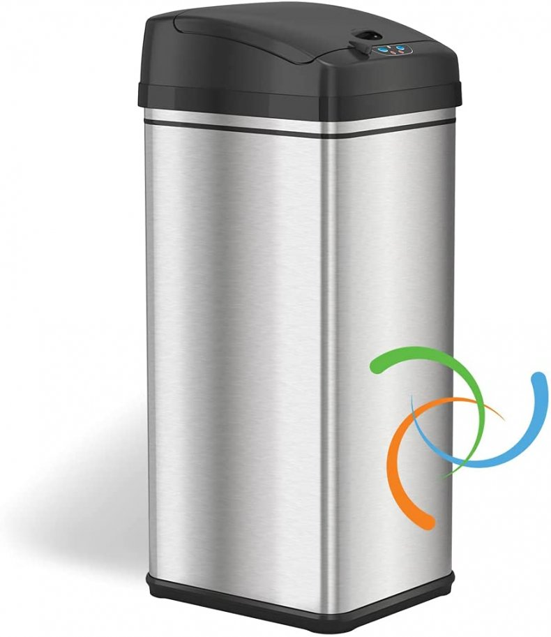 iTouchless Odor Absorbing Trash Can